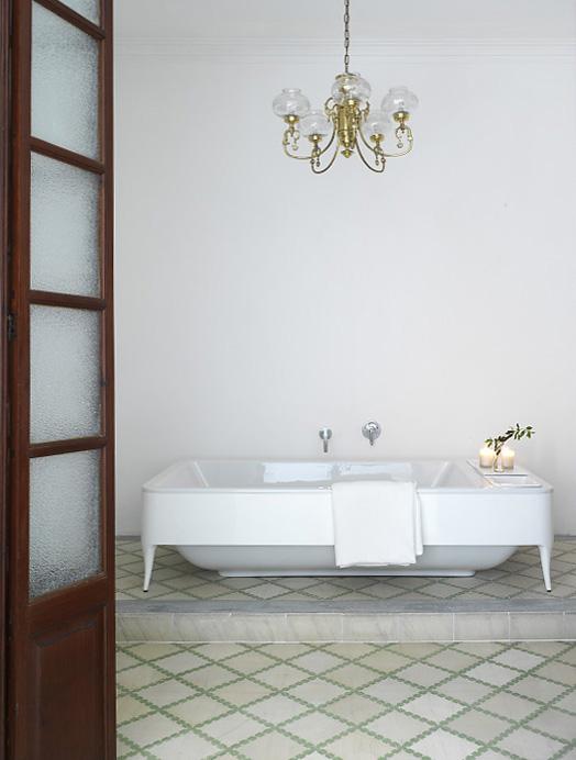 Jamie Hayon Bathtub in Parsley Palace
